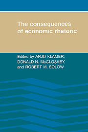 The consequences of economic rethoric