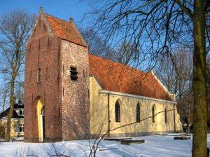 Dienst in de kerk van westernieland